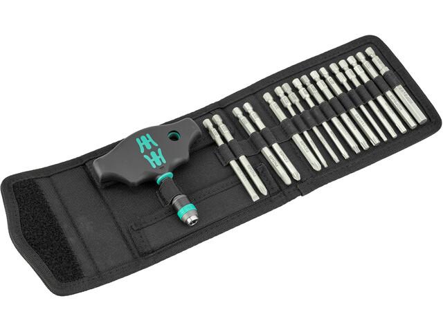 Wera Kraftform Kompakt 400 Screwdriver Set with T-Handle 15 Pieces